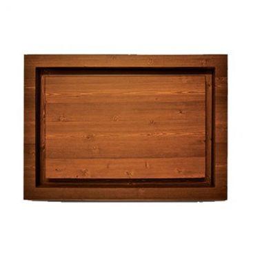 دریچه فنکویل چوبی