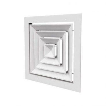 دریچه سقفی چهارگوش کلاف پهن
