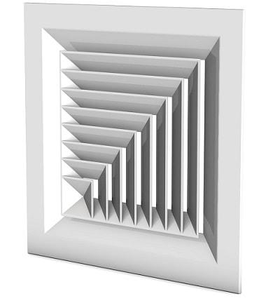 دریچه سقفی چهارگوش